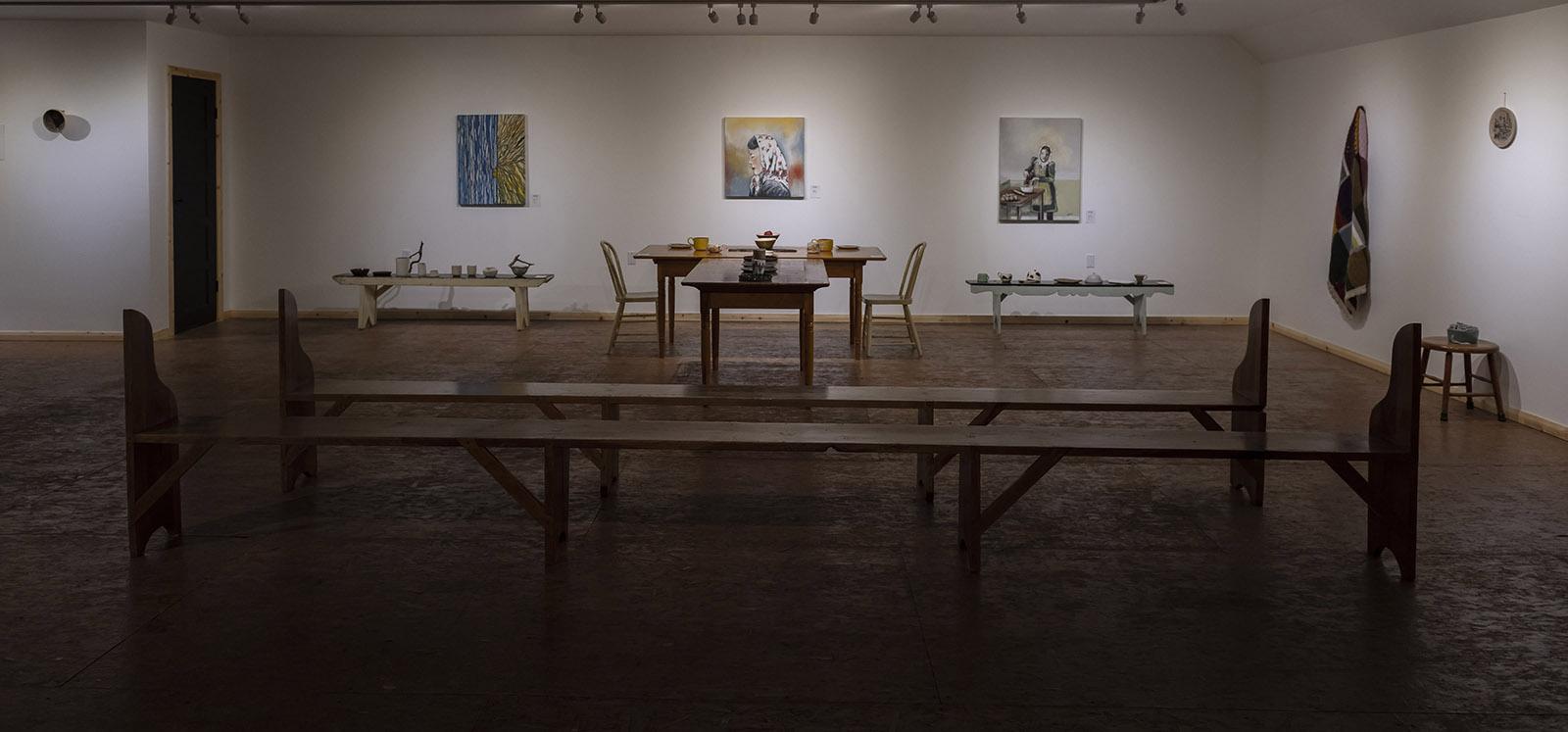 Sororidad exposición museo menonita