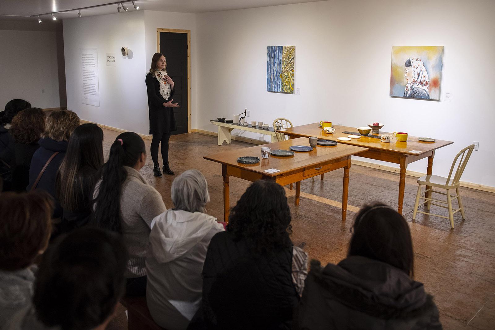 Exposición conceptual menonita chihuahua mexico