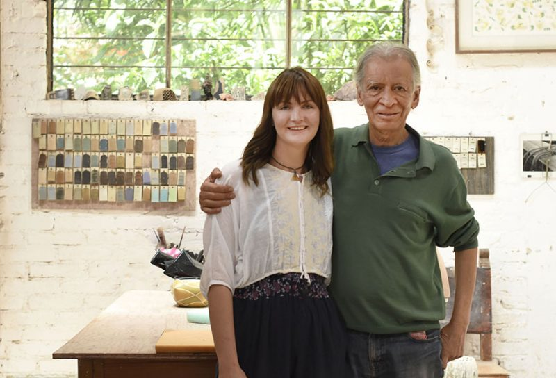 Verónica y Maestro Gustavo Pérez ceramistas